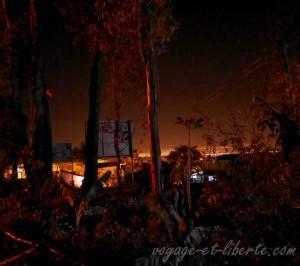 Cochabamba vue depuis le camping