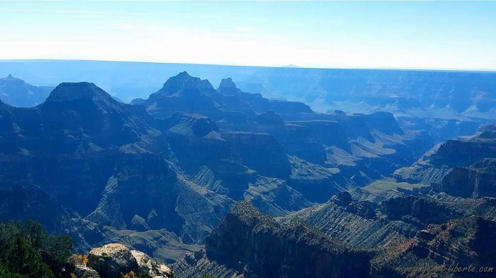 USA, Grand Canyon, north face